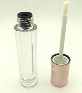 Empty lip gloss tube